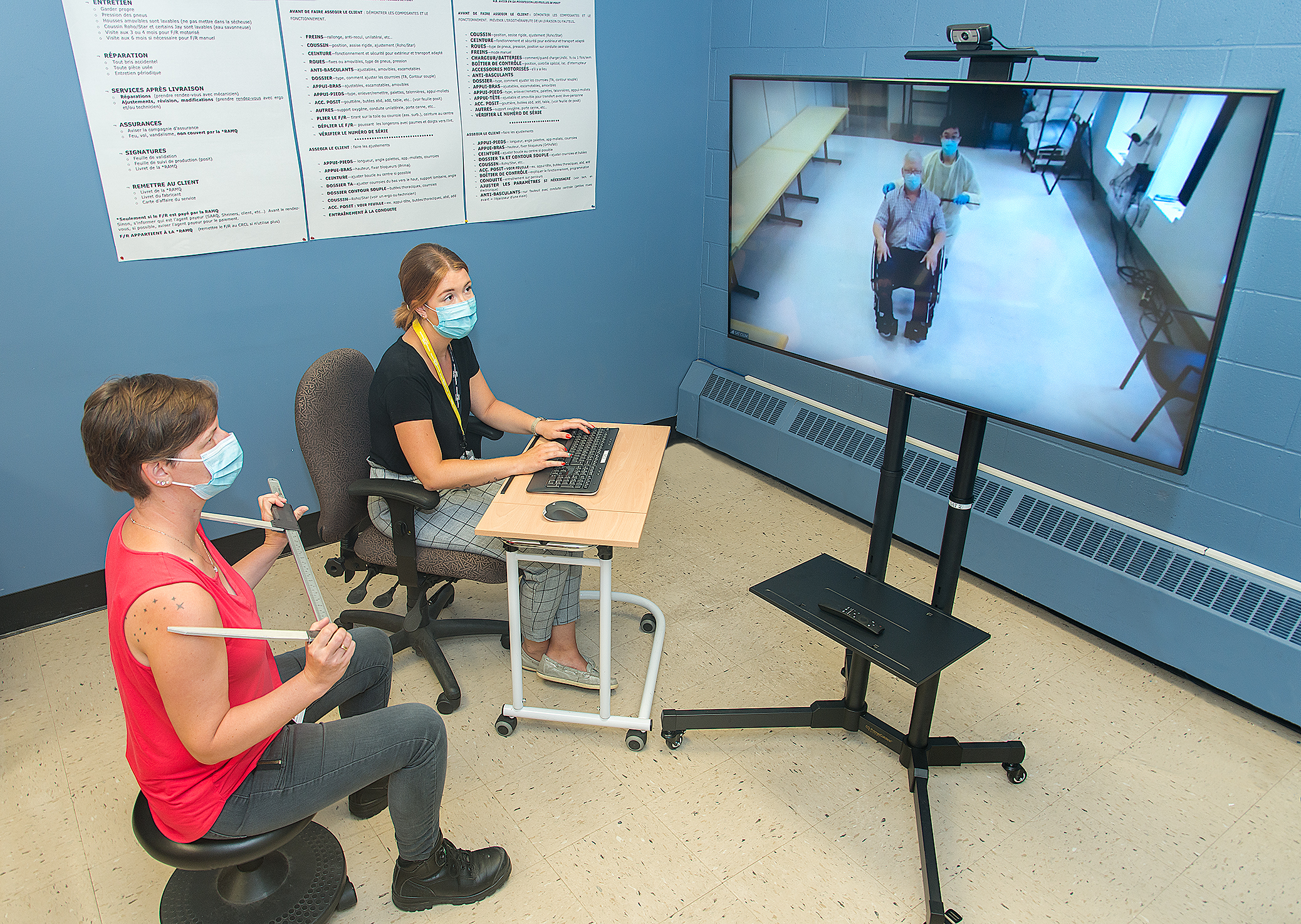 Telehealth opens new doors—and video screens—to rehabilitation at home