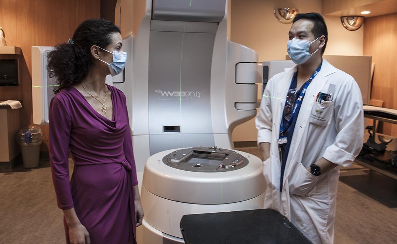 La télésanté joue un rôle clé en radio-oncologie, même si le traitement est donné en personne